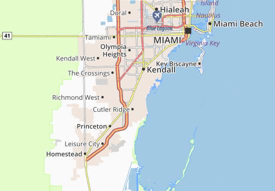 East Perrine Map