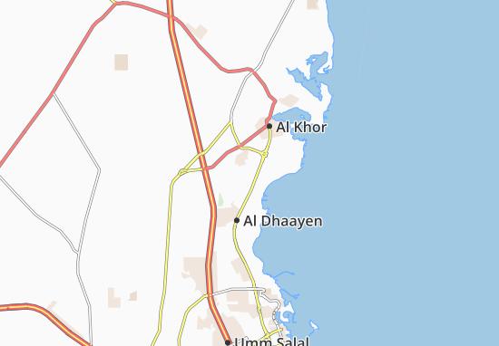 Carte-Plan Al Rehya