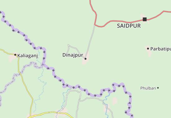 Mappe-Piantine Dinajpur