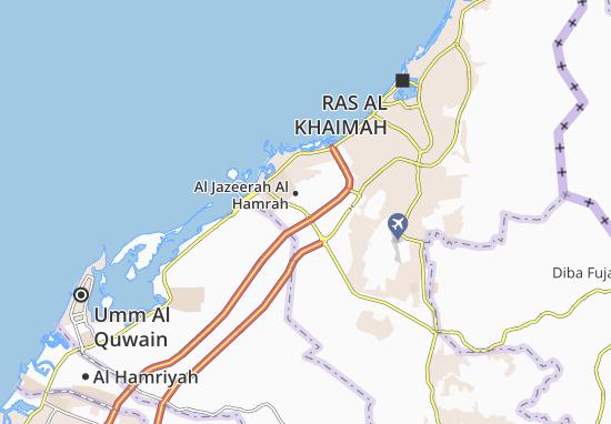 Mappe-Piantine Al Jazeerah Al Hamrah