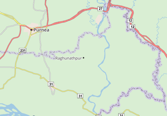 Raghunathpur Map
