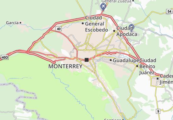 Mapa Plano Monterrey