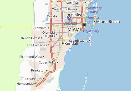 Pinecrest Map