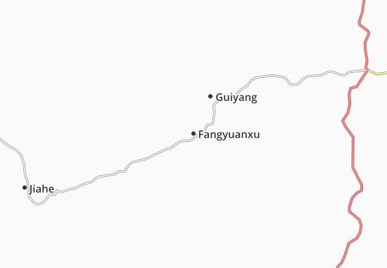 Kaart Plattegrond Fangyuanxu