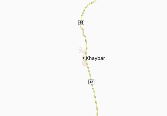 Mappe-Piantine Khaybar