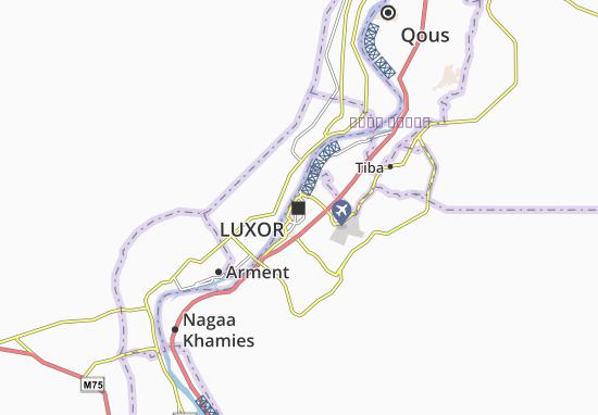 Mappe-Piantine Luxor