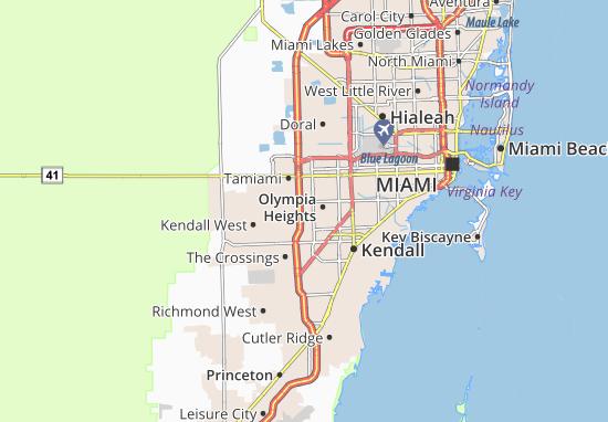Westwood Lakes Map