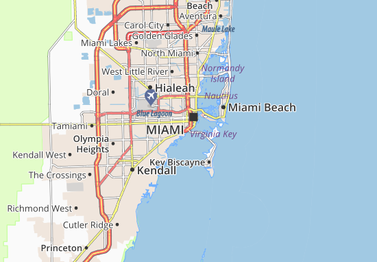 Driving Directions To South Beach Miami Florida
