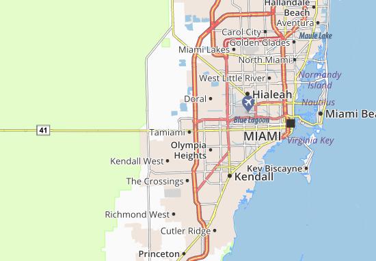 Tamiami Map