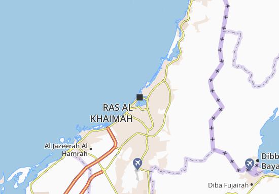 Ras Al Khaimah Map