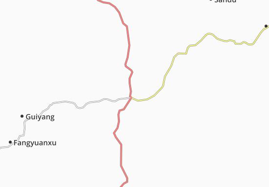Chenzhou Map
