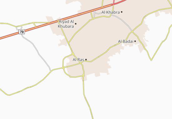 Al Ras Map