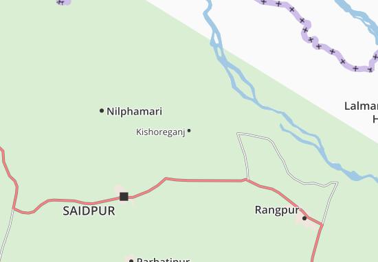 Map Of Kishoreganj Michelin Kishoreganj Map ViaMichelin - Saidpur map