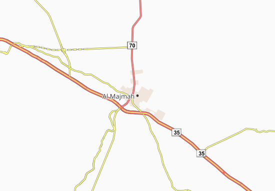 Al Majmah Map