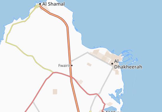Carte-Plan Al Jethay