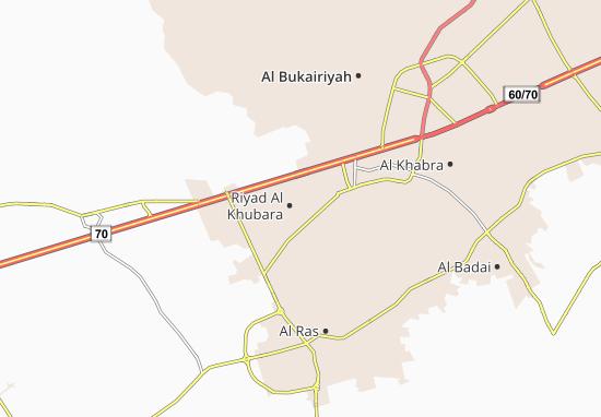 Carte-Plan Riyad Al Khubara