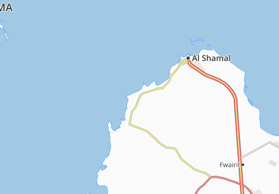 Al Areesh Map
