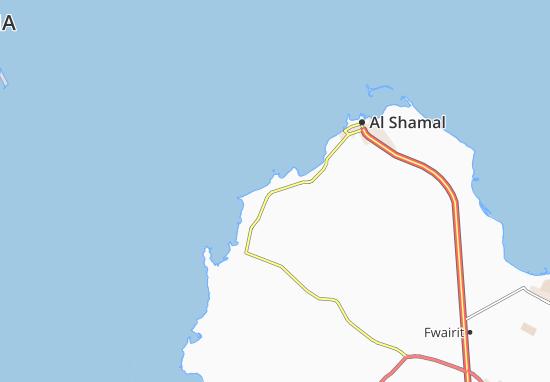 Carte-Plan Al Khuwair Hassan