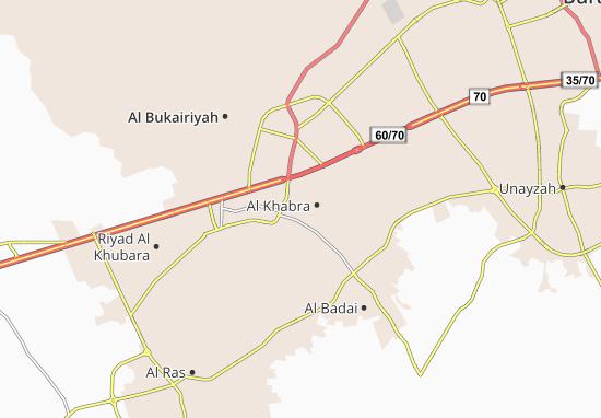 Carte-Plan Al Khabra
