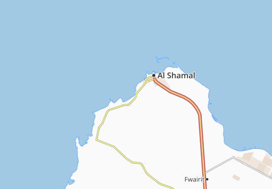 Carte-Plan Al Jamel