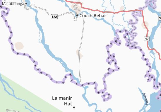 Mapa Plano Dinhata