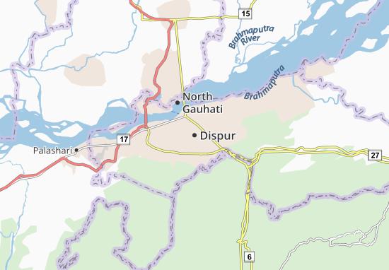 Mappe-Piantine Dispur