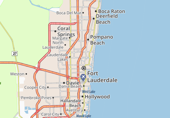 Map of Wilton Manors - Michelin Wilton Manors map - ViaMichelin City Of Wilton Manors Map on city street map of wilton, city of wilton manors employment, wilton manors florida map,