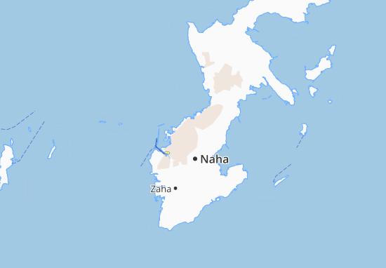 Kaart Plattegrond Urazoe