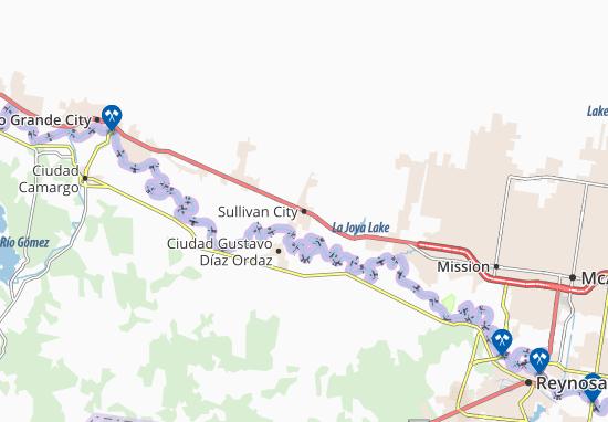 Mapas-Planos Sullivan City