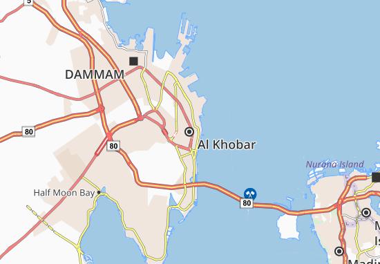 Mapa Plano Al Khobar