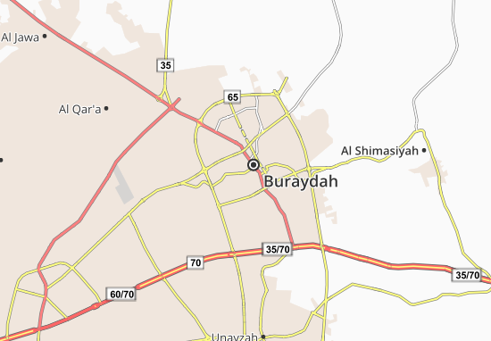 Mapa Plano Al Ajbaih