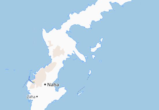 Map Of Henna Michelin Henna Map Viamichelin