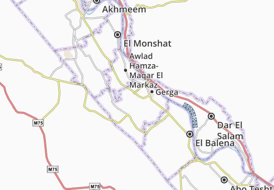 Mapas-Planos Kherafet Gerga