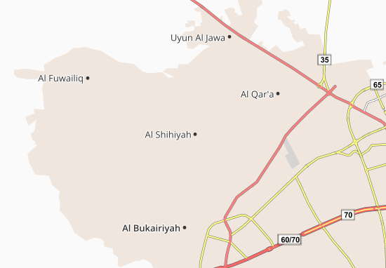Carte-Plan Al Shihiyah