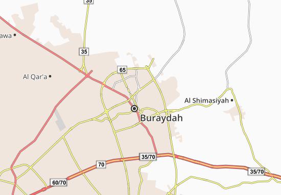 Mapa Plano Ain Al Zaeeb
