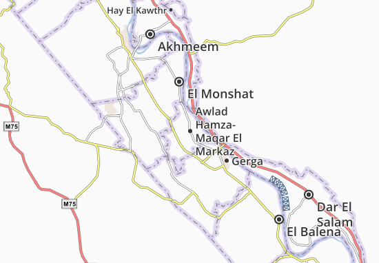 Mapas-Planos Awlad Hamza-Maqar El Markaz