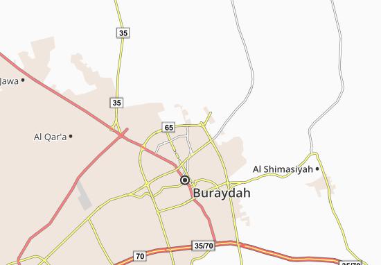 Mapa Plano Ain Al Hamzah