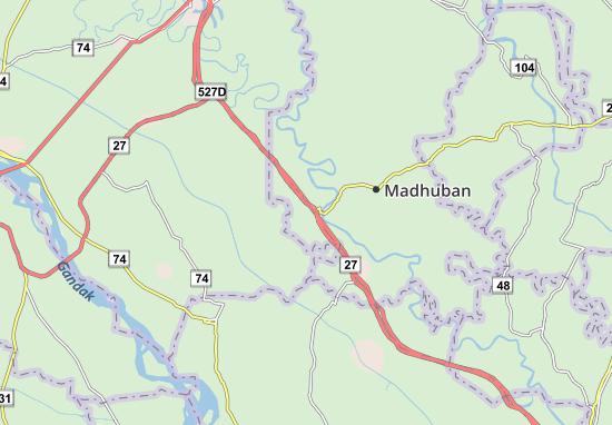 Chakia Map