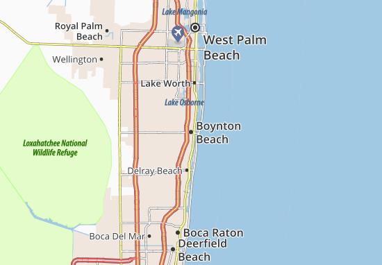 Boynton Beach Map