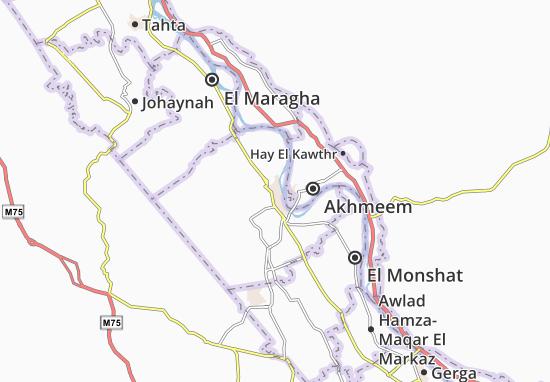 Mapas-Planos Sohag