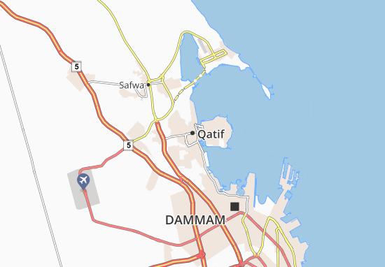 Carte-Plan Qatif