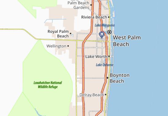 Map Of Florida Gardens Michelin Florida Gardens Map Viamichelin
