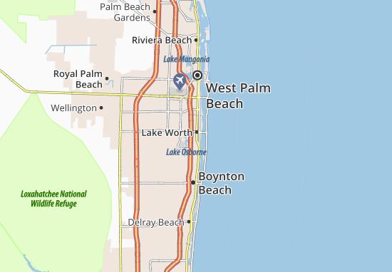 Lake Worth Map