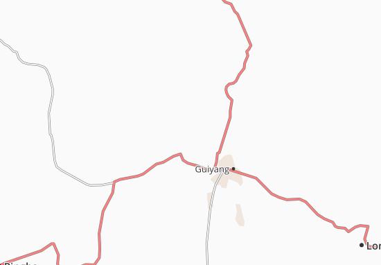 Carte-Plan Guijang