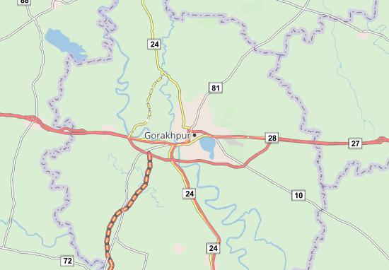 Mappe-Piantine Gorakhpur