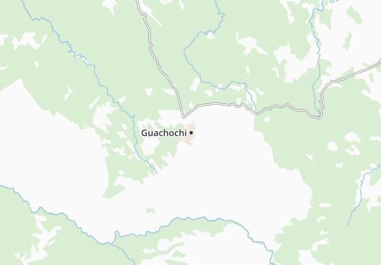 Carte-Plan Guachochi