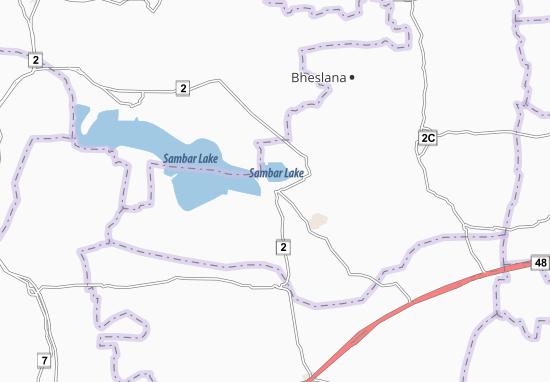 Sambhar Map