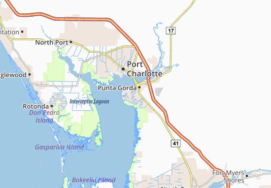 Charlotte Park Map