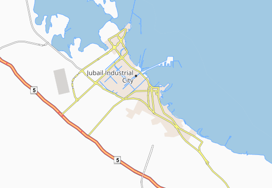 Carte-Plan Al Arayfi Industrial Area