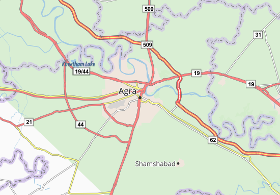 Agra Map